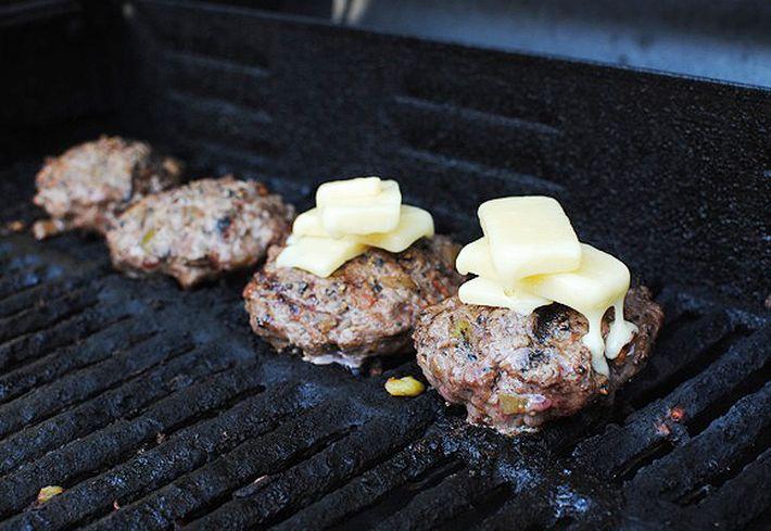 Grillezett Bourbon Bacon Burger