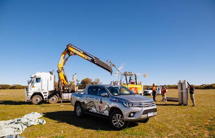 Fedor Konjuhov és a Toyota Hilux