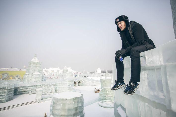 Jason Paul jégfutása