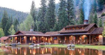Luxuskemping a Sziklás hegységben