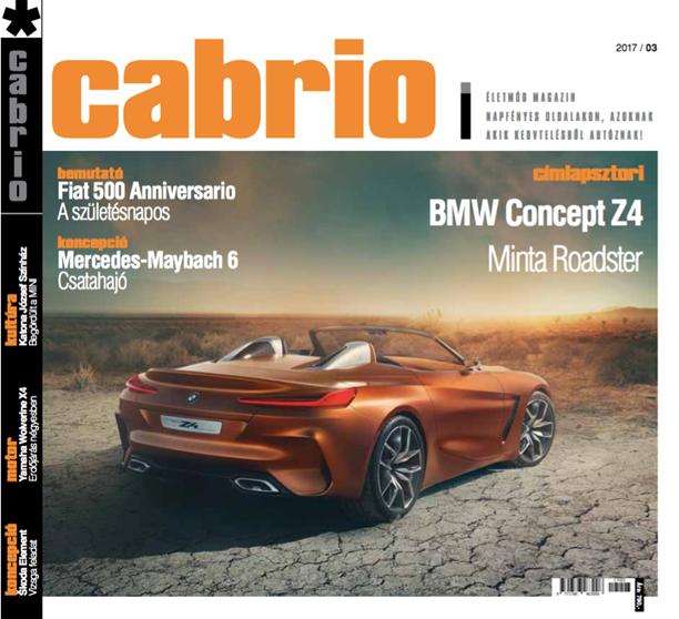 Cabrio magazin címlap