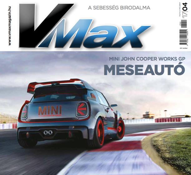 Vmax magazin címlap