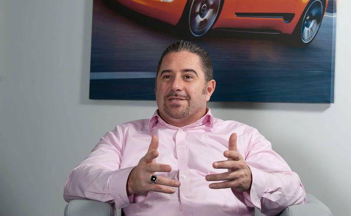 Nagy Norbert a KIA Motors Hungary Kft. ügyvezető igazgatója