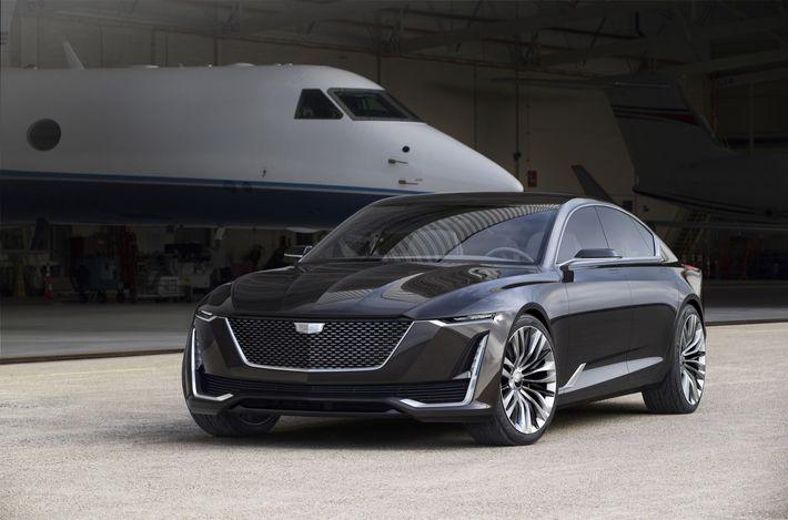 A Cadillac a luxuskarórák világából merített