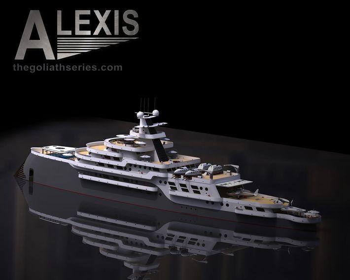 Alexis expedíciós jacht