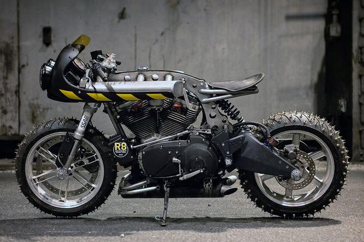 Buell XB9R Firebolt Ice Racer