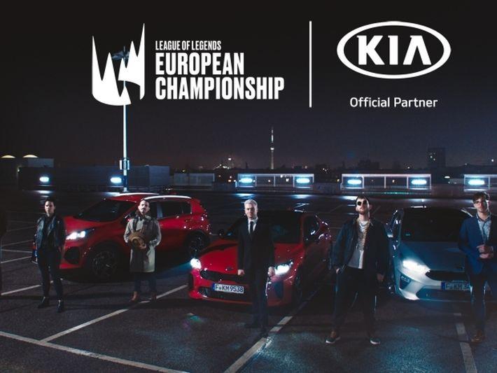 A Kia a 2019-es League of Legends Európa-bajnokság fő támogatója