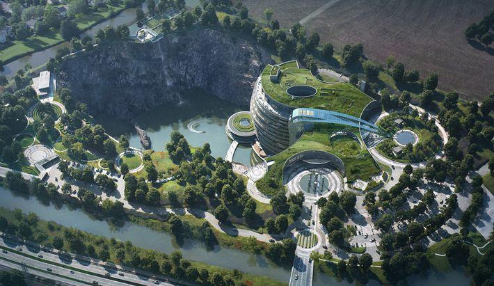 Shanghai legújabb luxushotele
