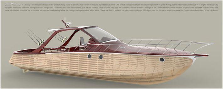 Golden Marlyn Wooden Yacht