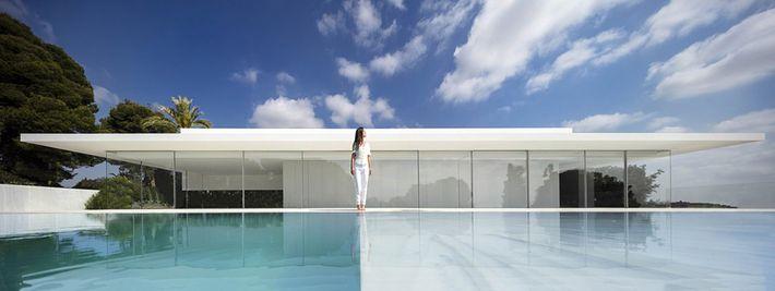 Modern üvegkalitka