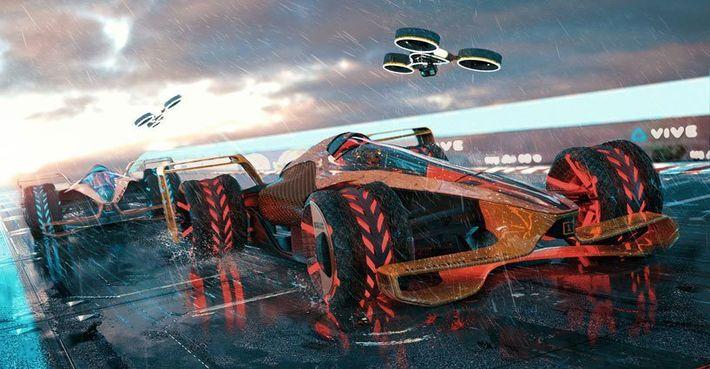 McLaren Future Grand Prix koncepciója
