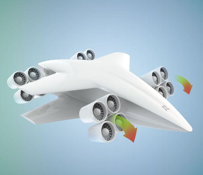 TU523 VTOL