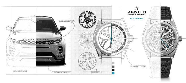 Range Rover inspirálta kollekciót mutatott be a Zenith