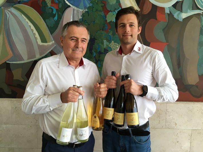 Varga Péter és Varga Máté - berlini és párizsi díjnyertes borok