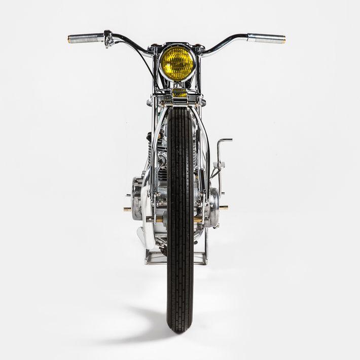 1980 Kawasaki KZ250 Retro Motor