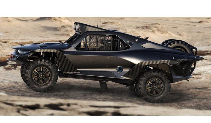 Desert Storm Trophy Truckról