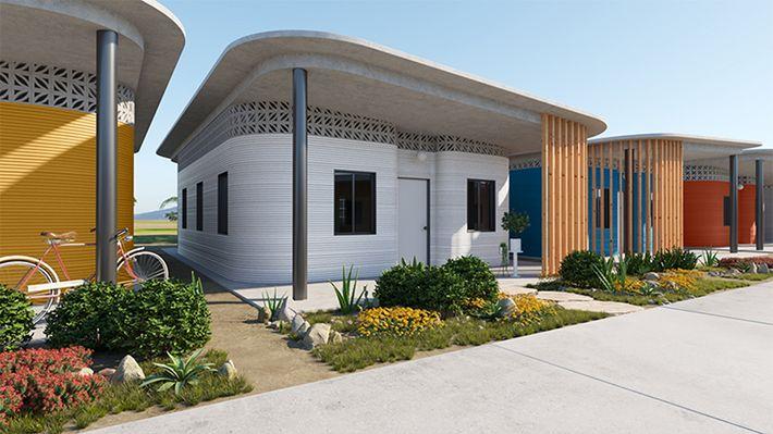 3D-s házak