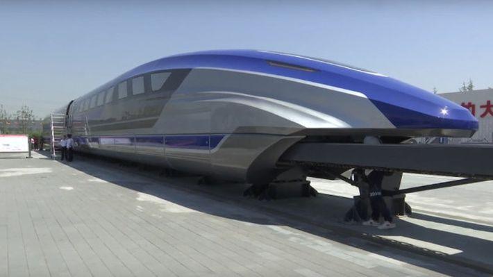 Kína új bullet trainje 600 km/órával száguld