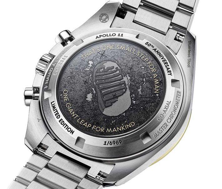 Limitált kiadású Speedmaster Apollo II az 50. évfordulóra