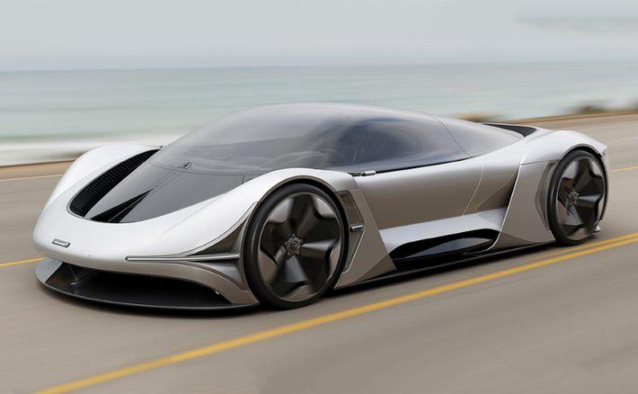 McLaren E-Zero