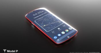 Tesla Model P phone