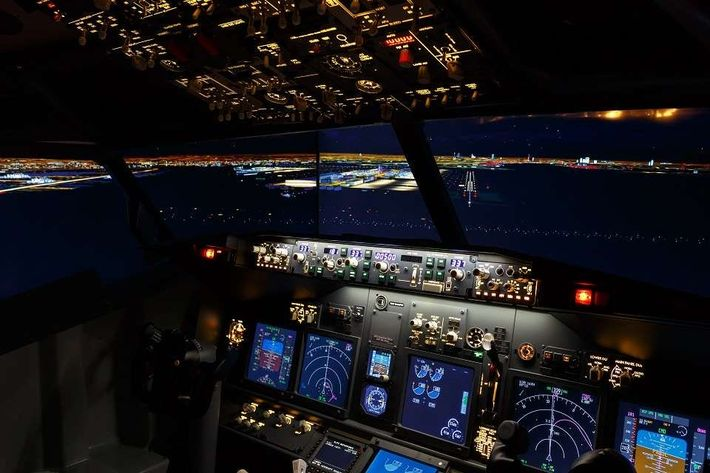 Superior Cockpit Room