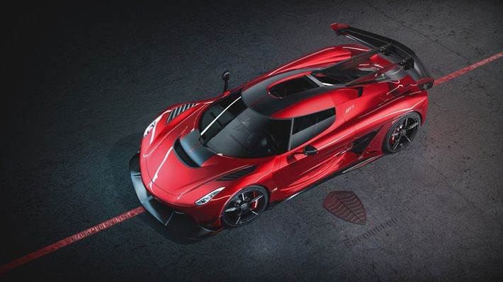 2020 Koenigsegg Jesko Cherry Red Edition10,