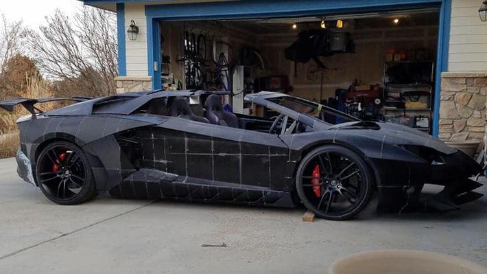3D-nyomtatással készült Lamborghini Aventador