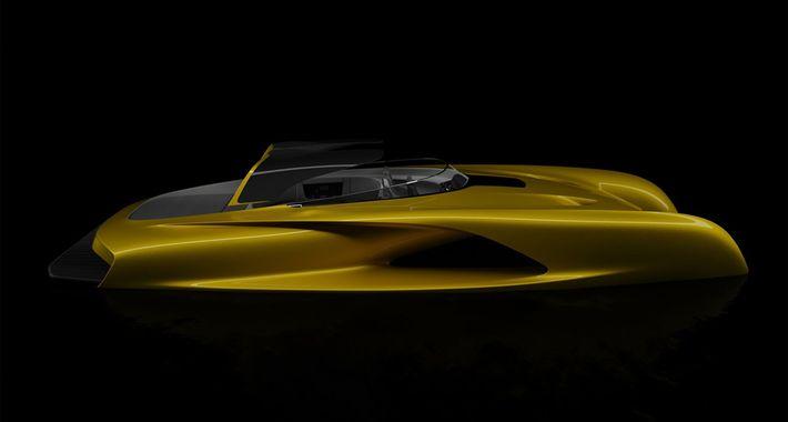 Atlantic - sporthajó a Bugatti tervezőjétől