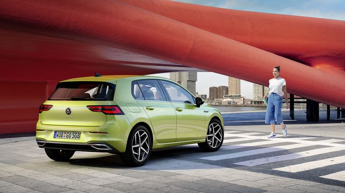 Új VW Golf VIII