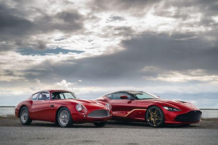 Aston Martin DBS GT Zagato Coupé
