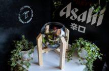 Asahi Super Dry & Wabu Kusa
