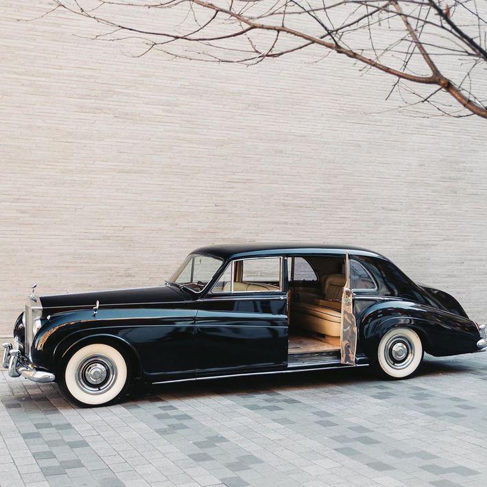 Elektromos Rolls-Royce Phantom V