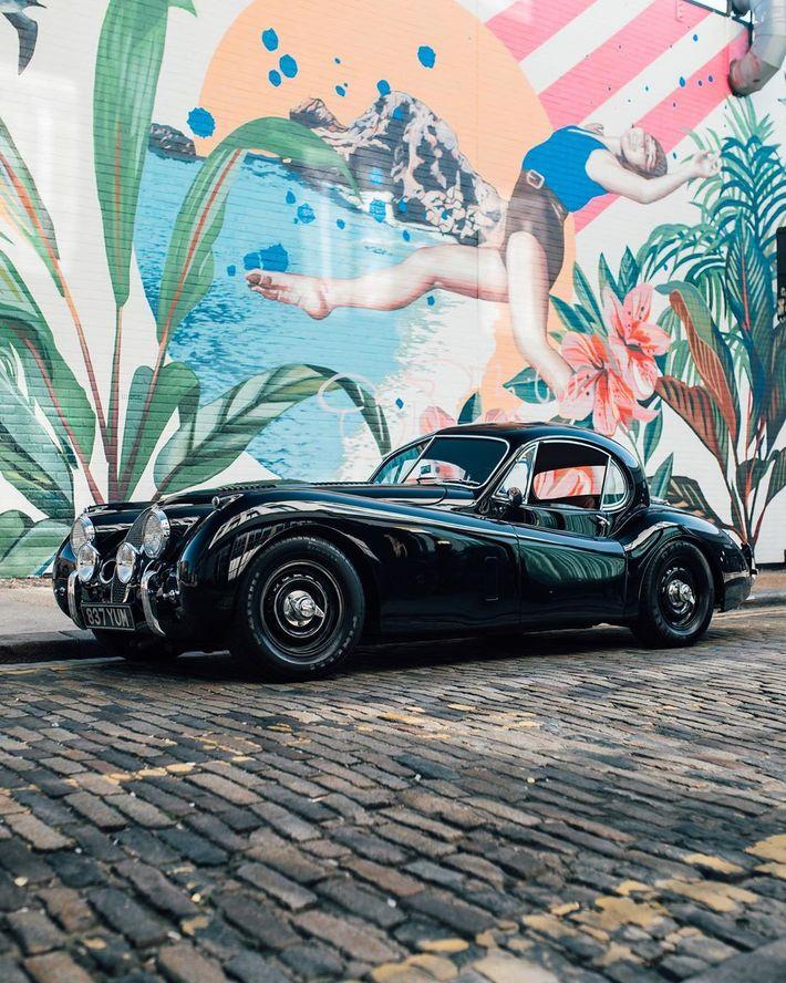 Elektromos Jaguar XK120