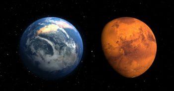 Mars a Holdra