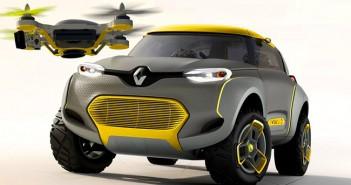 Renault Kwid tanulmányautó fotója