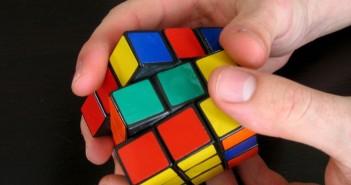 Rubik kocka fotója