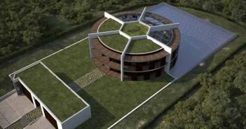 Lionel Messi házának terve