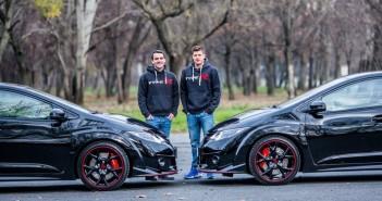 Michelisz Norbert, Gyurta Dániel, Honda Type-R