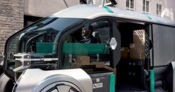 Renault EZ-PRO önvezető robotfutár