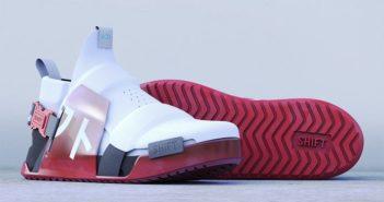 Új hullámos sportcipő