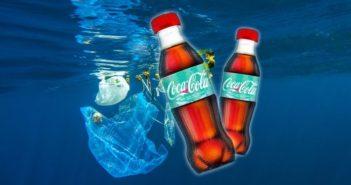 Kólásüveg óceáni műanyaghulladékból