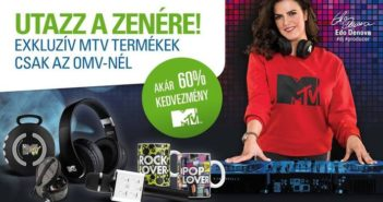 DJ Edo Denova az OMV és az MTV legújabb kampányának arca