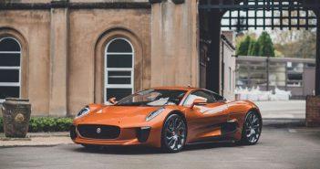 James Bond Jaguar C-X75