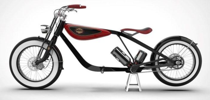 Carota Design klasszikus e-kerékpárja